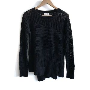 Calvin Klein Black Knit Sweater Small NWOT